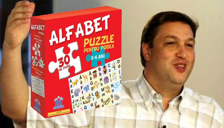 """E genial! Șerban Nicolae a terminat în doar 3 luni un puzzle pe care scria """"între 3 și 6 ani""""!"""