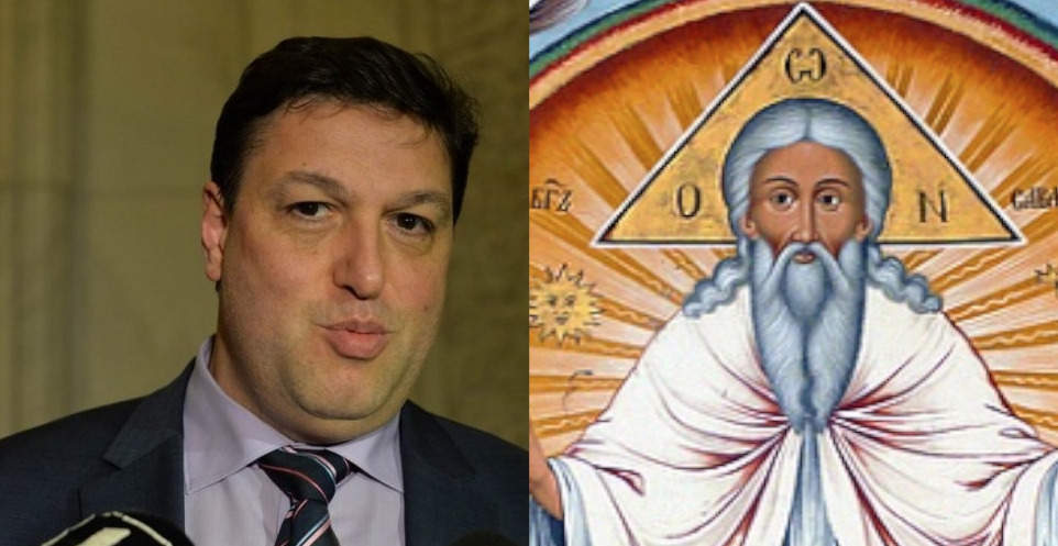 """Dumnezeu se apără: """"Nu eu l-am creat pe Șerban Nicolae, ci ăia care nu au mers la vot!"""""""