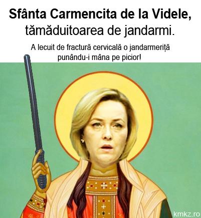 Sfânta Carmencita de la Videle, tămăduitoarea de jandarmerițe