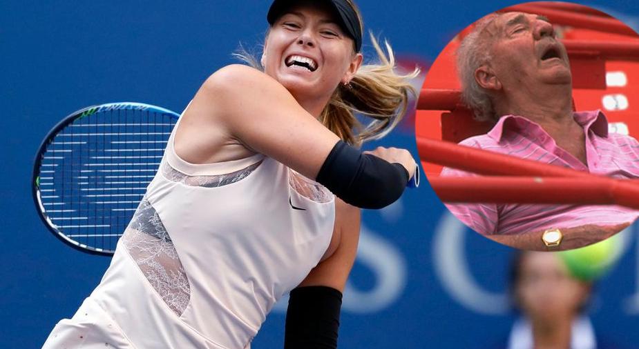 Sharapova, acuzată că a trezit un spectator cu țipetele ei