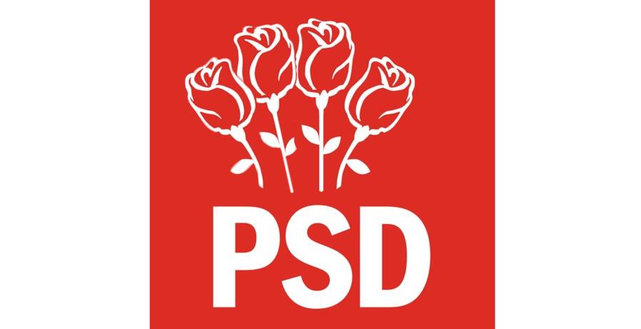 Se modifică sigla PSD: va mai fi adăugat un trandafir, să fie 4, ca la mort!