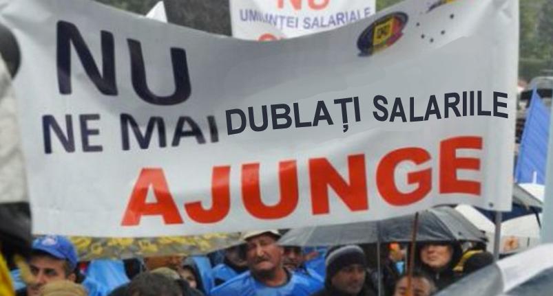 """Sindicatele cer guvernului să oprească măririle de salarii: """"Rămânemfără niciun ban în portofel!"""""""