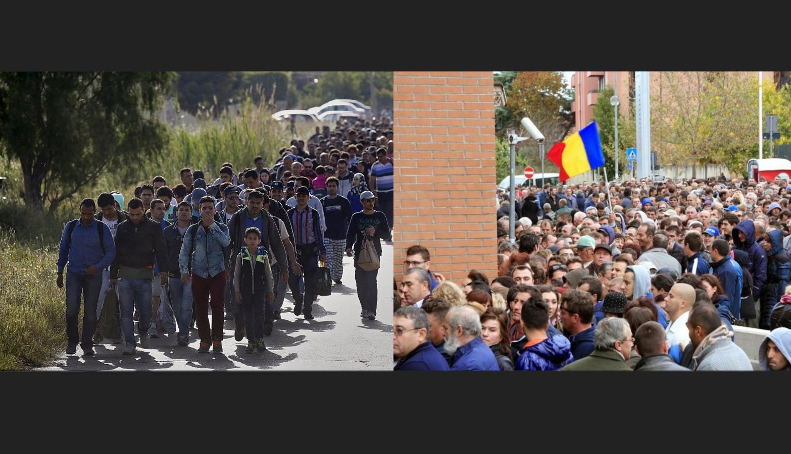 4 milioane de oameni au plecat din Siria din cauza ISIS. Tot 4 milioane au plecat și din România, din cauza guvernanților