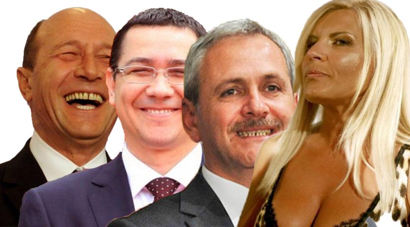 Sistemul: Băse l-a creat, Ponta îl reprezintă, Dragnea i-a tăiat porcul, Udrea l-a f…, dar toți sunt contra lui!