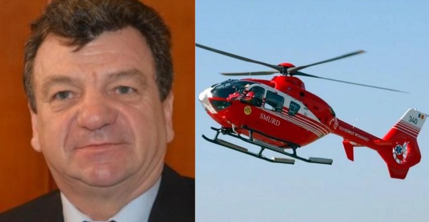 Un PSD-ist a chemat elicopterul SMURD că a făcut diaree de la morcovul din cur