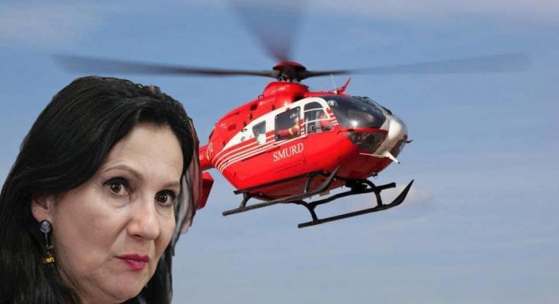 Doamna ministru, suplimentați numărul de elicopetere SMURD pentruduminică seara, că o să vă căcați toți pe voi!