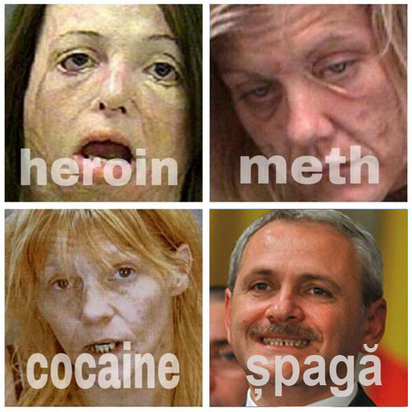 Șpaga - marijuana coruptului