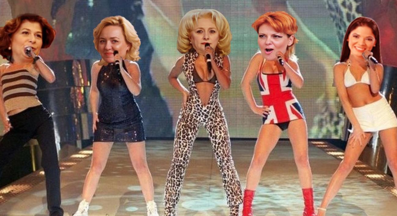 S-au reunit Spice Girls! Acum le zice Spițe Girls