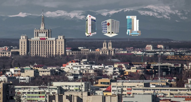 E atât de senin în București încât se văd cele 3 spitale regionale promise de PSD în 2016!