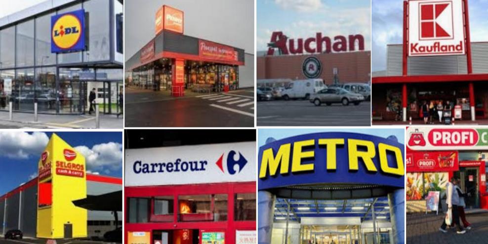 Cele 8 spitale regionale unde vi se ia temperatura: Lidl, Penny, Auchan, Kaufland, Selgros, Carrefour, Metro, Profi