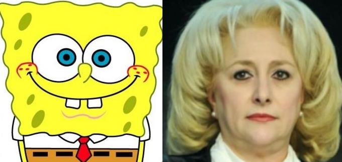 SpongeBob după o lună la Videle!