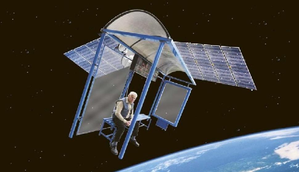 Imagini din Cosmos cu prima stație orbitală românească!