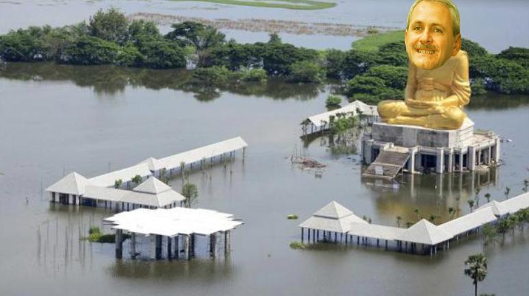 Județul Teleorman i-a dedicat inundațiile marelui conducător