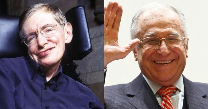 S-a dus și Stephen Hawking. Iar Iliescu nici măcar nu strănută!