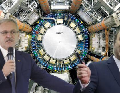 """PSD va construi un accelerator de hoție! """"Vrem să descoperim hoțonul, particula lui șmen!"""""""
