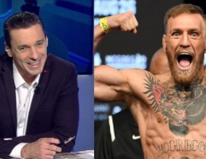 """Mircea Badea râde de Conor McGregor după ce acesta a reuşit un KO în 40 de secunde: """"Să vină să-i arăt cum se face în 5 secunde!"""""""