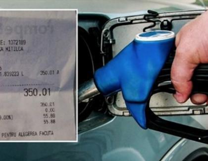 Miracol de Sfânta Parascheva:un român a reuşit să bage 62 de litri de benzină într-un rezervor de Sandero de 50 de litri!