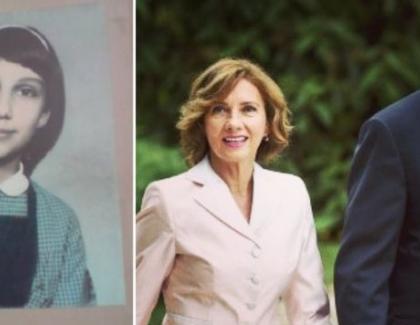 Carmen Iohannis pe vremea când o chemaLazurcă şi habar nu avea că va ajunge soția celui mai cunoscut schior din România!