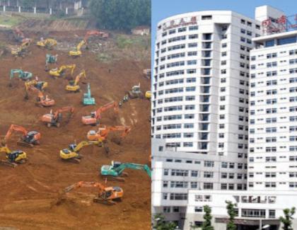 Chinezii au terminat de construit într-o săptămânăspitalul din Wuhan, dar nu l-au deschis fiindcănu au un sobor de preoți pentru slujba de inaugurare!