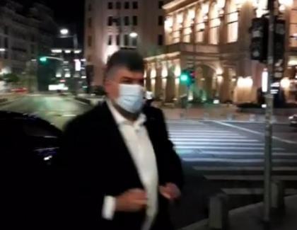 Falsul revoluționar Marcel Ciolacu, luat la şuturi de revoluționarul Marian Ceauşescuîn fața B1TV! Nu vă fie frică, Pesedeu' pică!