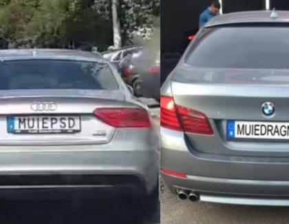 Se introduce circulația alternativă: o zi mașinile cu MUIEPSD, o zi mașinile cu MUIEDRAGNEA!