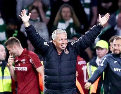 CFR a bătut pe Celtic și s-a calificat în primăvara Europa League.Vezi, ciobane, de ce e bine să lași antrenorul să-și facă echipa?