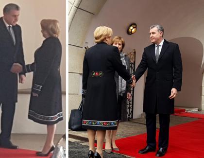 Penibil: Familia Regală se ploconește la ducesa Viorica-Vasilica de Videle pentru niște bani!