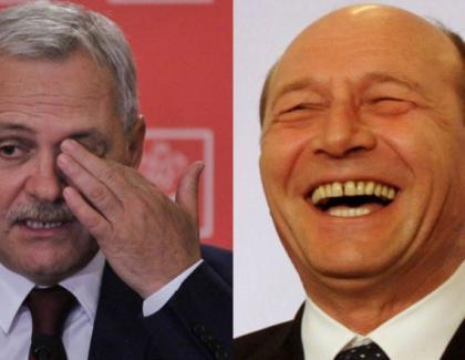 """Băsescu: """"Dragnea a ajuns la 4%. Are mai puțin decât berea la PET!"""""""