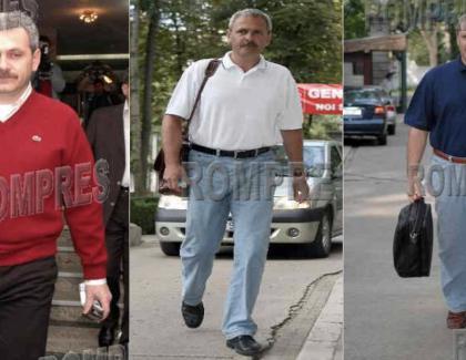 Flaaușatul Liviu Dragnea pe vremea când venea cu tractorul la București!