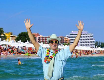 A reușit! Și-a vândut vila din Ibiza și s-a cazat 6 nopți la Mamaia!