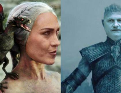 La final, Khaleesi of Voluntari, fătătoarea de dragoni, îl va transforma în moaște pe Night King of Teleorman!