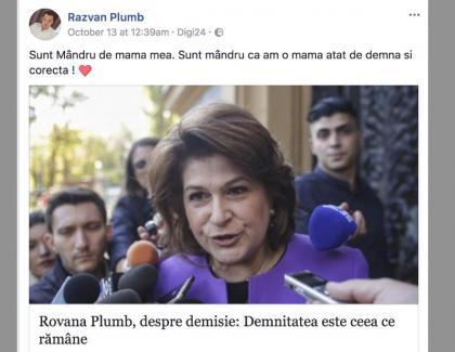 Fiul Rovanei e mândru de mă-sa, că i-a luat Merțan de 250.000 de euro din demnitate și corectitudine!