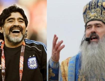 ÎPS Teodosie va oficia duminică la Constanța slujba de Înviere a lui Maradona, pentru toți românii care vor să dea un ban!