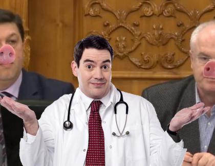 Medicii liniștesc populația: Pesta porcină nu se poate transmite de la parlamentar la om!