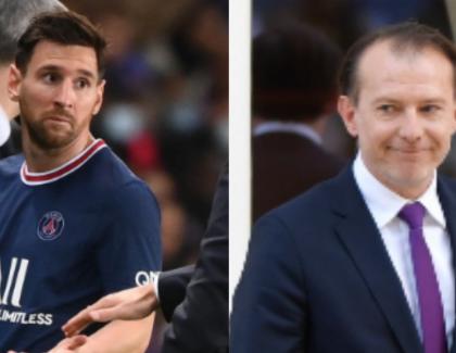"""Cîțu râde de Messi: """"Dacă îl suna pe Iohannis, nu îl mai schimba nici dracu'!"""""""