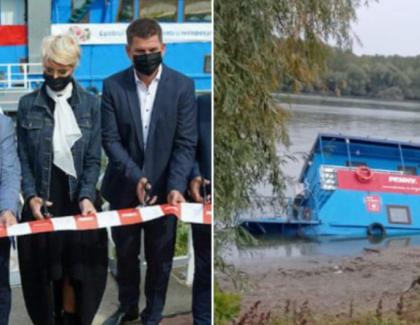 Cătălin Drulă a scufundat pontonul la care au tăiat panglica Raluca Turcan și prietenii săi!