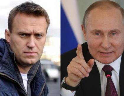 """Putin, îngrijorat de starea psihică a luiNavâlnîi: """"Ar putea suferi o cădere nervoasă de la etaj!"""""""