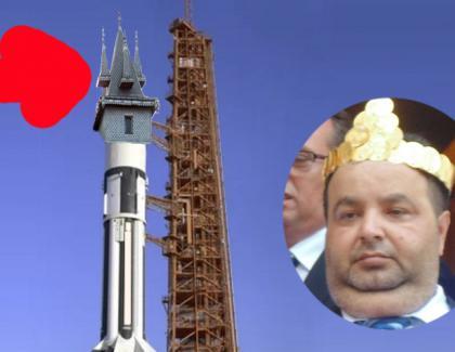 Regele Cioabă va lansa în spațiu o rachetă cu turnuleț!