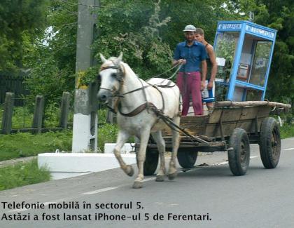 Telefonia mobilă în sectorul 5