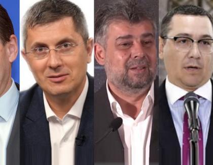 Ultimul sondaj înainte de alegeri: PNL 31%, USR 22%, PSD 18%, Ponta 0 doctorate şi Tăriceanu tot 5 neveste!