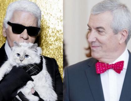 Tăriceanu a cerut-o de nevastă pe pisica lui Karl Lagerfeld!