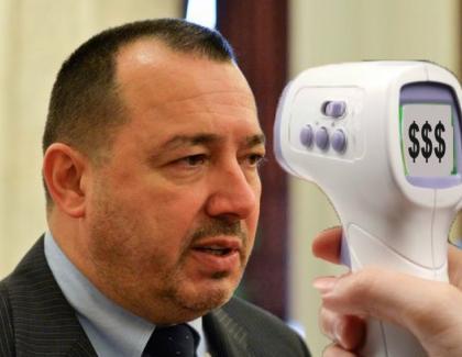 Panică în PSD: a apărut termoscannerul care afişează cât ai furat!