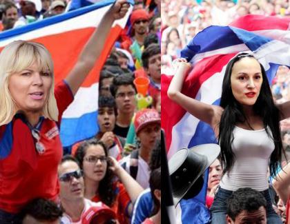 Costa Rica, exclusă de la mondiale: în galerie au fost descoperite două petarde,Bica și Udrea!