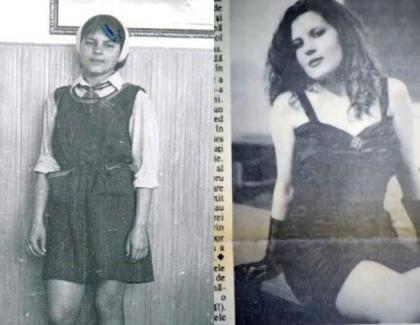 Elena Udrea în liceu, pe vremea când nu știa unde e Costa Rica pentru că abia ieșise din Pleșcoi