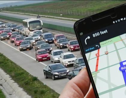 Pentru întoarcerea de pe litoral, aplicația Waze recomandă ruta ocolitoare, prin Bulgaria și Grecia!