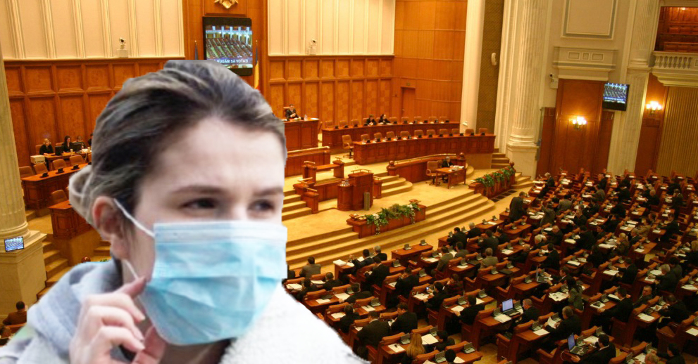 Tânăra care a bătut 4 polițişti şi 3 agenți de pază este aşteptată şi în Parlament!