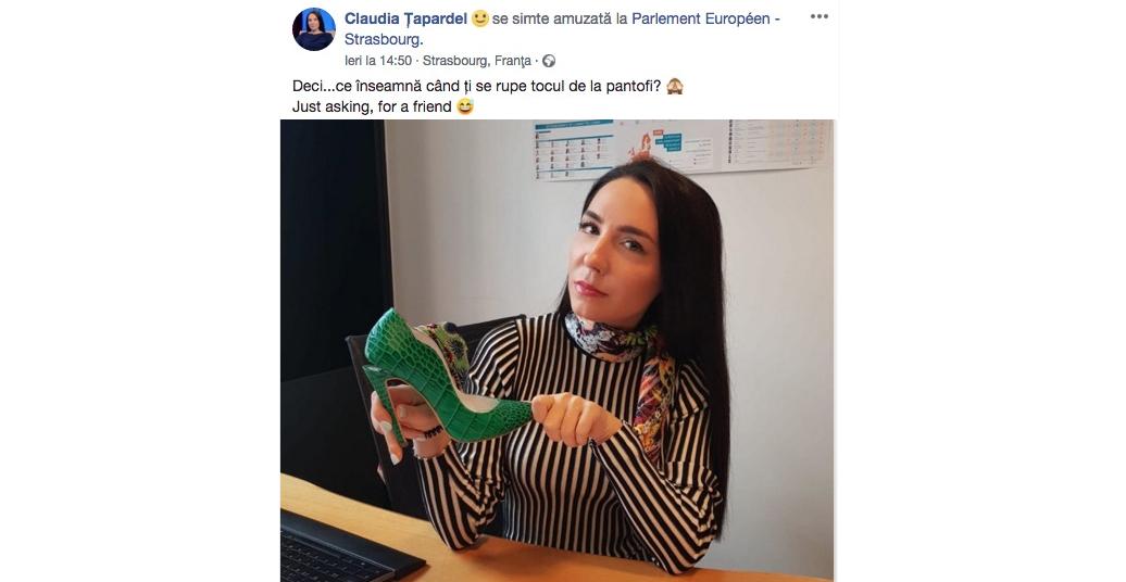 Ce înseamnăcând ți se rupe tocul de la pantof: urmează 4 ani de ghinion, fără serviciu la Bruxelles