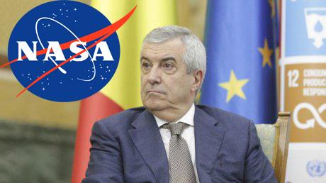 """NASA susține că în România nu există urme de viață inteligentă: """"Uitați-vă la Tăriceanu!"""""""