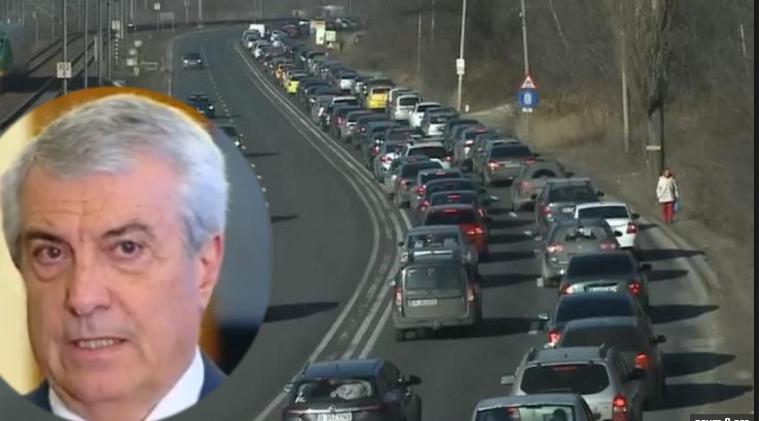 """Tăriceanu îi critică pe ceicare stau în trafic pe DN1: """"Nu știu nici să se bage în față!"""""""