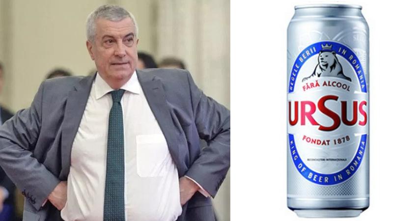 Tăriceanu a scăzut cu procentele sub berea fără alcool!